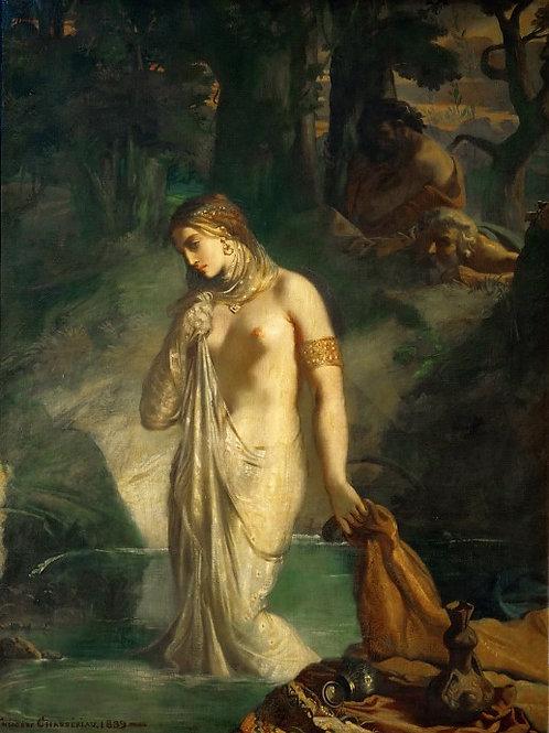 Шассерио, Теодор (1819 Сент-Барб-де-Сама,30х40 см.