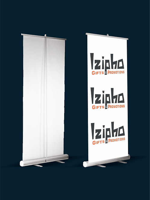 Roll-Up Silver Stand