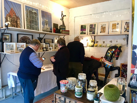 Open Studios 2019 - Artists Vicky Keskeys and Ruby Tomes