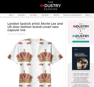 The Industry Fashion Akvile Les PAOM col