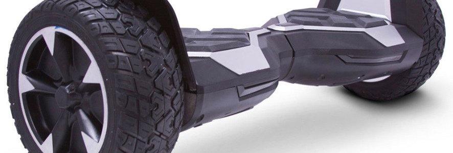 MotoTec Self Balancing Ninja 36v 8.5in Silver