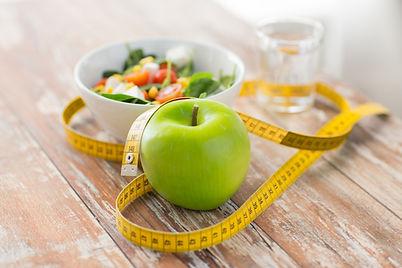 healthy eating, dieting, slimming and we