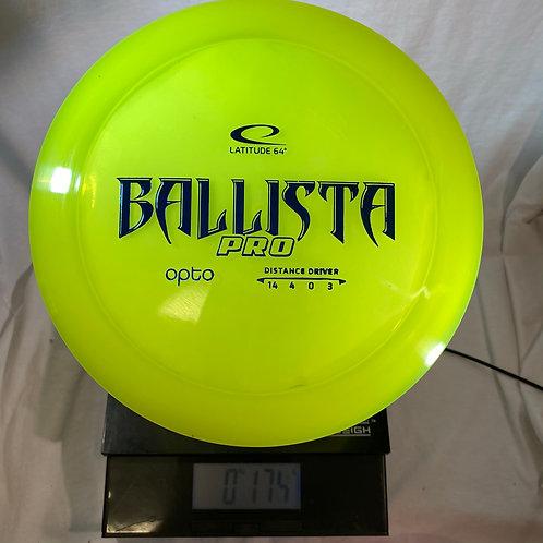Lat 64 - Ballista Pro - Opto