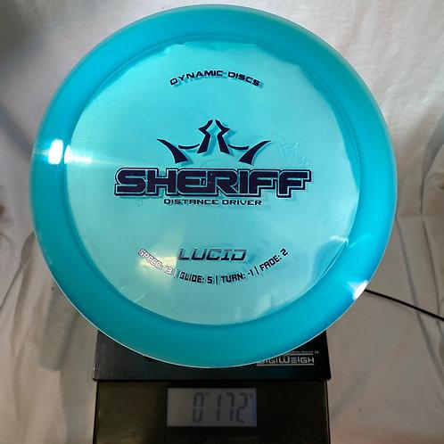 Dynamic Discs Sheriff - Lucid