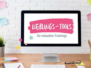 Welche Programme und Online-Tools nutze ich für meine virtuellen Trainings?