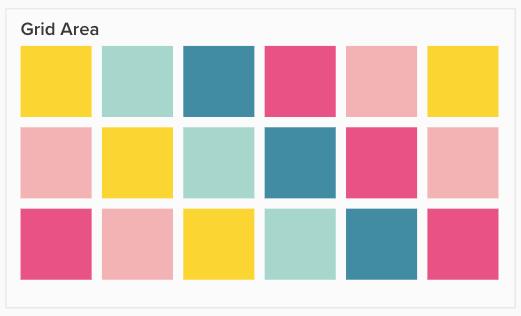Screenshot von Grid Area