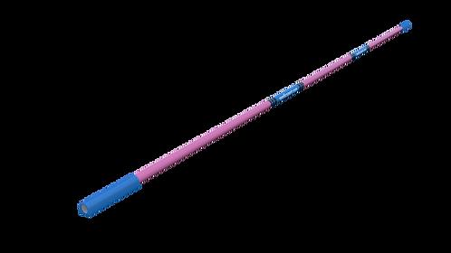 Nordic Fibreglass high jump crossbar 4M