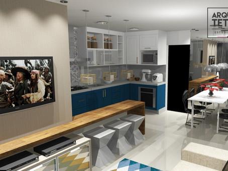 Sala e Cozinha Apartamento (PR32)