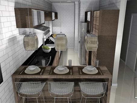 Cozinha Apartamento (PR28)