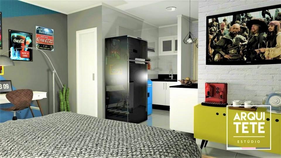 O Loft localizado no bairro Bella Vista em São Paulo, tem um espaço bem reduzido! Cada centímetro do projeto foi pensado para que tudo o que o cliente necessitava coubesse no lugar.