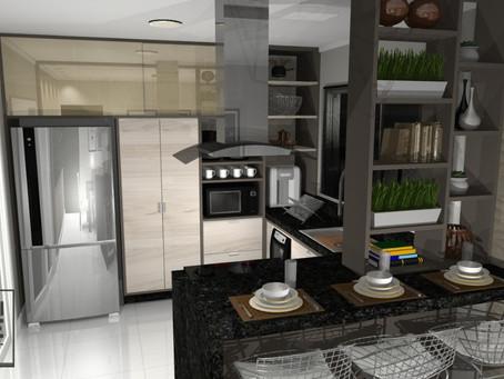 Cozinha Residencial II (PR25)