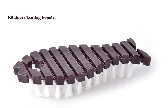 Satzas Cleaning Flexible Fish Brush