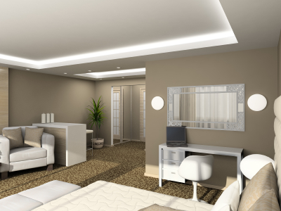 Interior Painting, Living Rooms