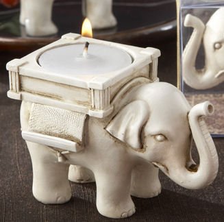 Satzas Elephant Tea Light Candle Holder