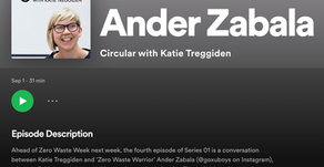 Podcast Interview - Circular with Katie Treggiden