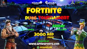 Fortnite Tournament by AL Qanas Gaming Cafe