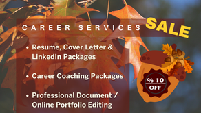 Career Services Limited-time Sale
