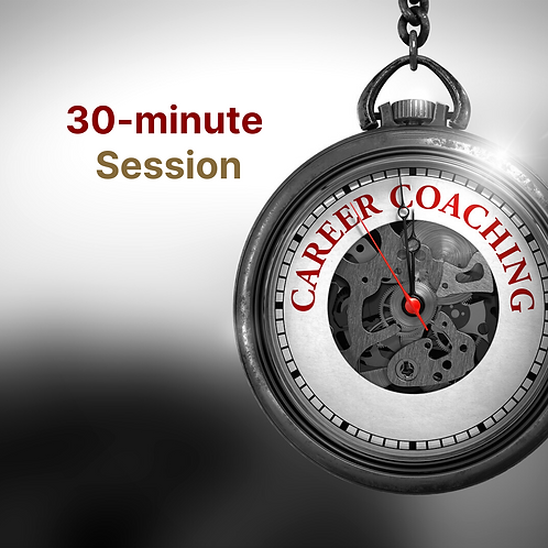 30-Minute Career Coaching Session