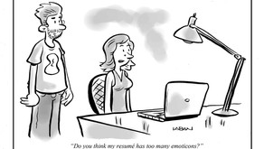 Resume Writing Cartoon - A lesson on what not to do