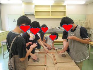 陶芸教室に行ってきました~♪