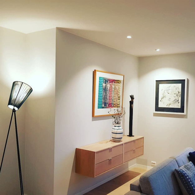 Spotter og designerlampe