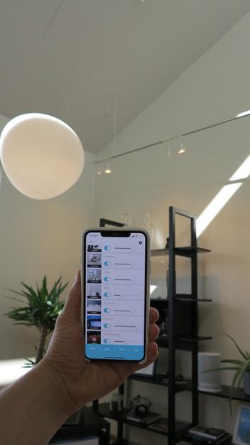 Smarthusstyring av lys