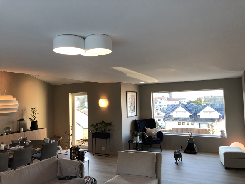 Designerlamper i stue