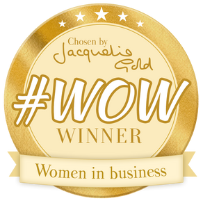 YORKSHIRE ENTREPRENEUR RECIEVES #WOW AWARD FROM JACQUELINE GOLD CBE