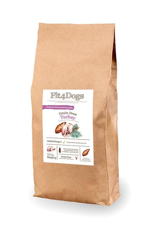 Puppy Small Breed Grain Free Turkey w Duck,Sweet Potato & Dill
