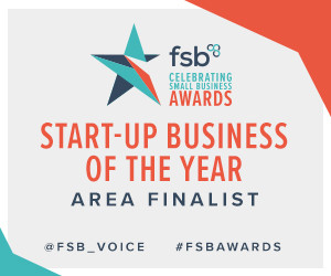 Fit4dogsuk is awarded Start up Business of the Year Area Finalist for the Yorkshire.