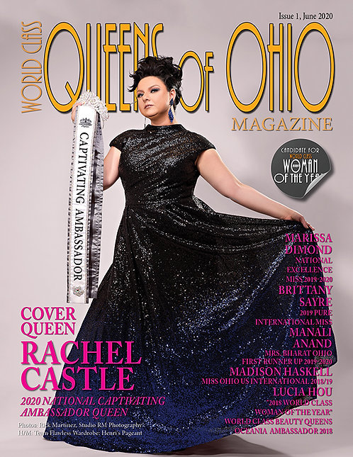 Issue 1 World Class Queens of Ohio Magazine