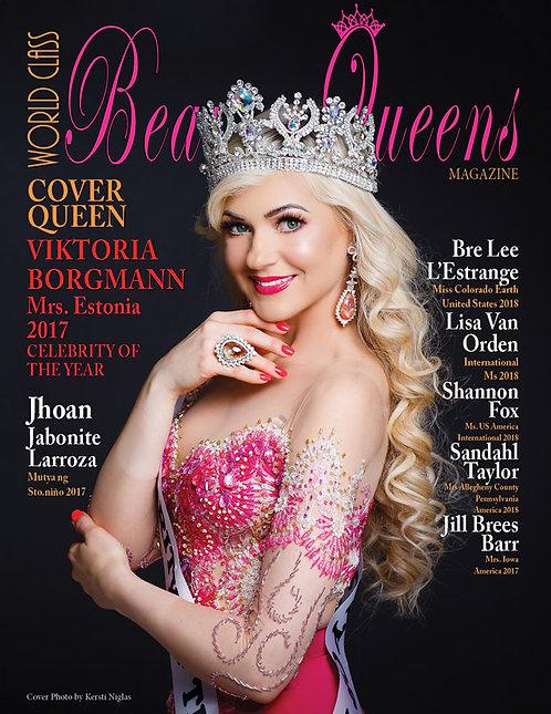Issue 51 World Class Beauty Queens Magazine