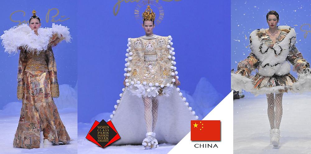 Guo Pei, Photographer Jean Marc Cresson, Paris Fashion Week 2020, World Class Paris Fashion Week Magazine, www.guo-pei.fr