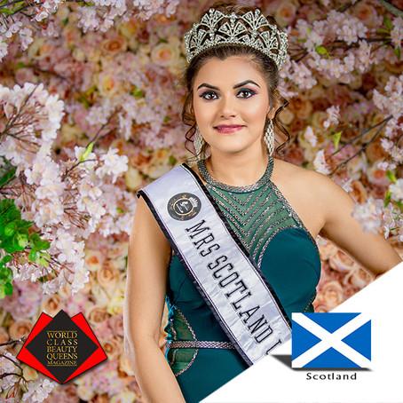 Rashmi Rai Mantha Mrs Scotland Universe 2019