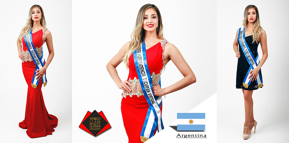 Carina Ceferina Correa Sra Independencia TucumanVirtual 2019, World Class Beauty Queens Magazine, Photo by Graphos Photographic Study