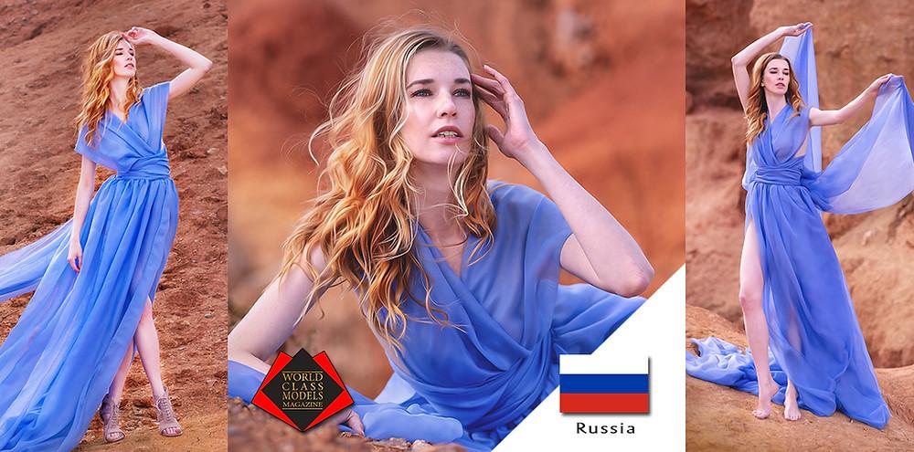 Ekaterina Prohorova, World Class Models Magazine,