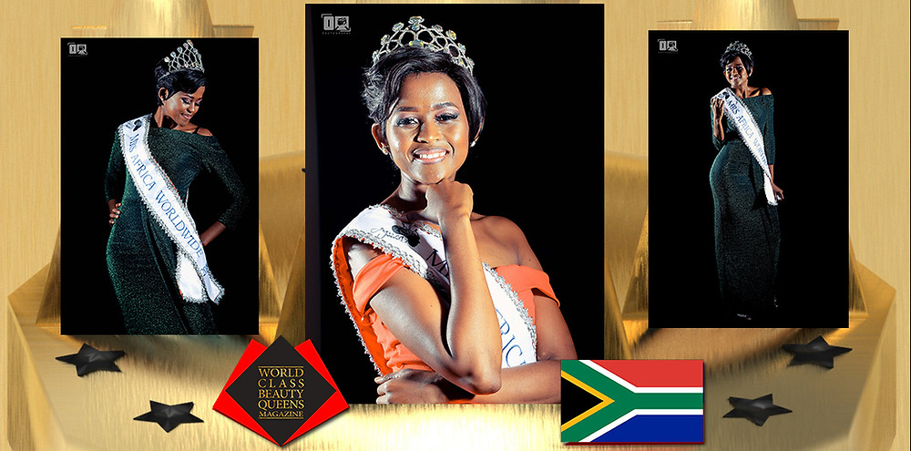 Naomi Molema Mrs Africa Worldwide 2020, World Class Beauty Queens Magazine,