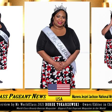 Manera Jeszel Jackson National Ms. Curvy California 2021