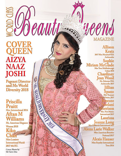 Issue 46 World Class Beauty Queens Magazine