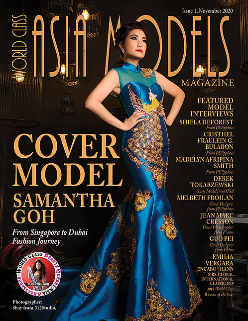 Issue 1 World Class Asia Models Magazine