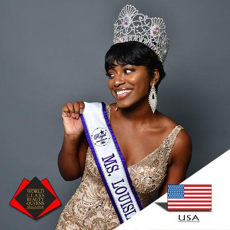 Makeva Armant-Muhammad Royal International Ms. Louisiana 2019