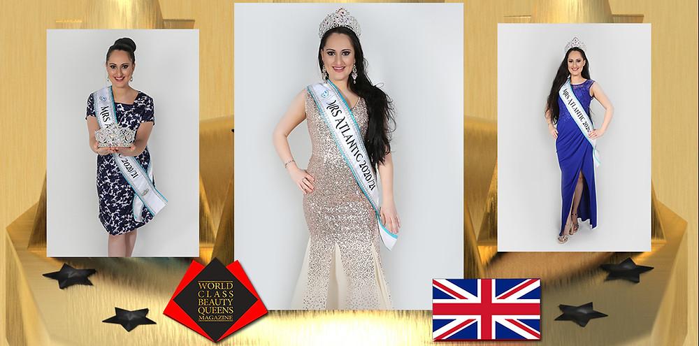 Natasha Koshti Mrs Atlantic 2020, World Class Beauty Queens Magazine, Photo by Lauren Blue Photography