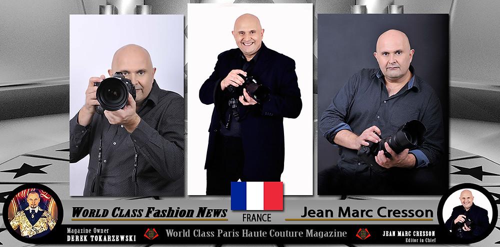 Jean Marc Cresson, World Class Paris Haute Couture Magazine.