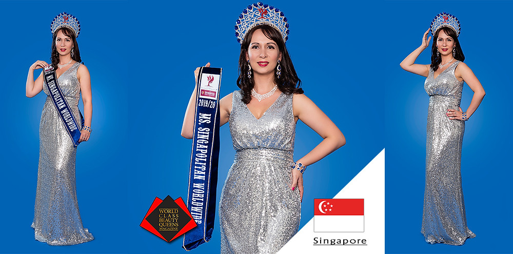 Tharini Thiyanamurthi Ms Singapolitan Nations 2019/20, World Class Beauty Queens Magazine,