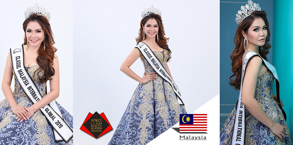Melinda Khoo Kwai Fun Classic Mrs Malaysia International Global 2019, World Class Beauty Queens Magazine,