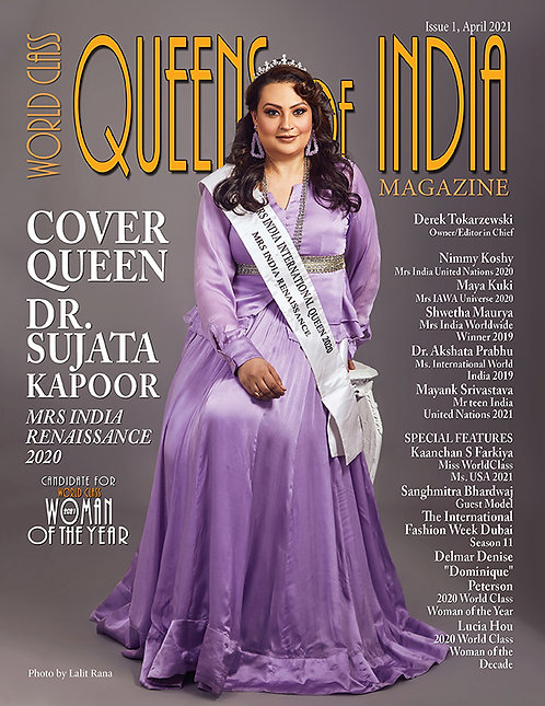 Issue 1 World Class Queens of India Magazine