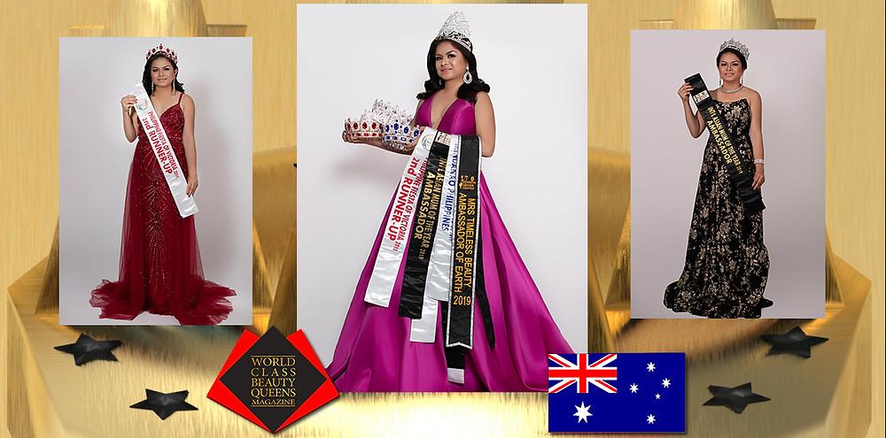 Rodelyn Daguplo International Asian Mum of the Year 2019 Ambassador, World Class Beauty Queens Magazine, Photos: Angelito Valdez Jr Photography, Hair and Make Up Artist: Silver Couture