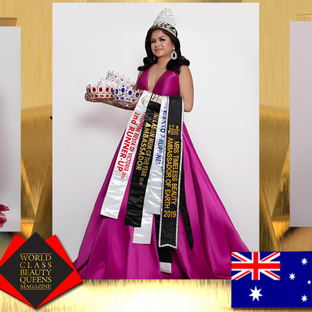 Rodelyn Daguplo International Asian Mum of the Year 2019 Ambassador