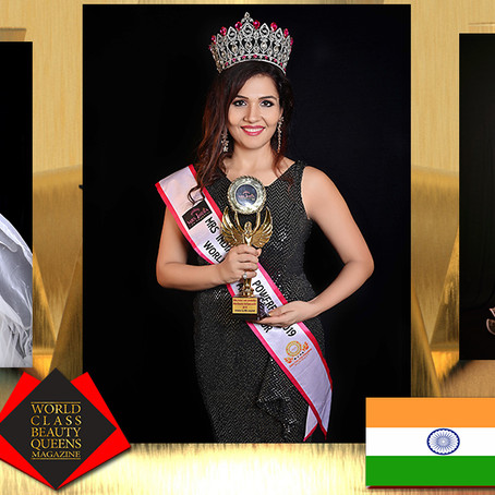 Shweta Maurya Mrs. India 2019 Worldwide Ambassador