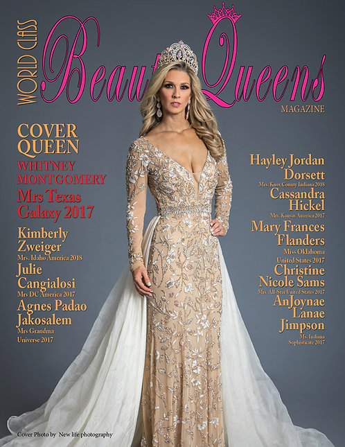 Issue 52 World Class Beauty Queens Magazine
